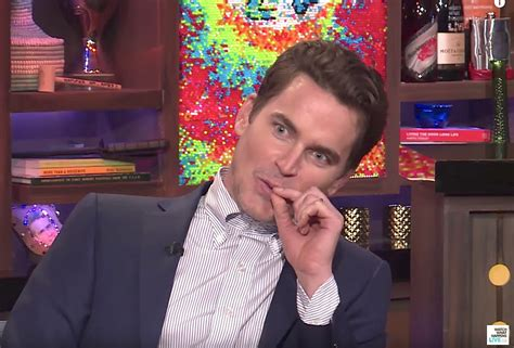 Matt Bomer Talks to Andy Cohen About Being Gay in High