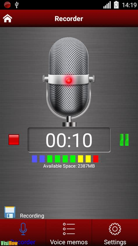 Voice Memo Apps for Android Green Apple Studio (Voice
