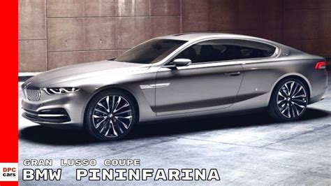 BMW Pininfarina Gran Lusso Coupe Concept Explained - YouTube