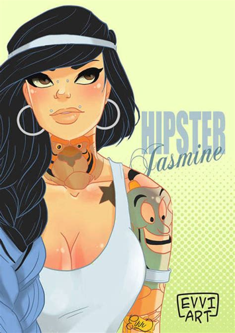 See 6 Disney Princesses With Badass Hipster Makeovers